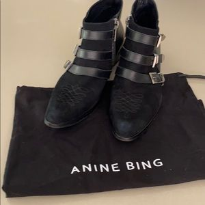 Anime Bing Ankle Boots